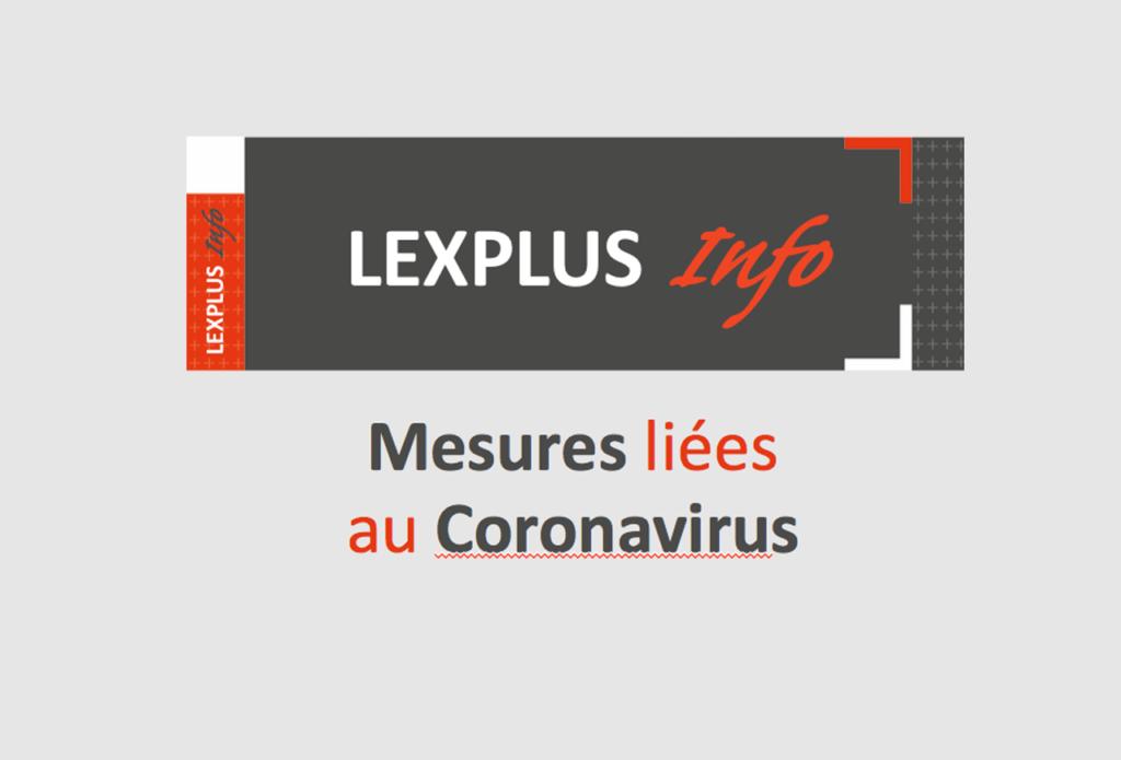 Mesures liées au coronavirus